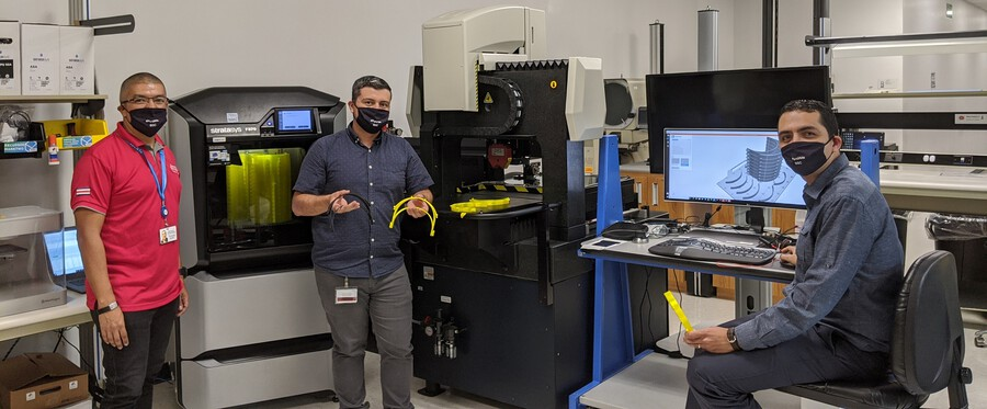 Multinational Companies Partner with the University of Costa Rica to 3D Print Protection Masks