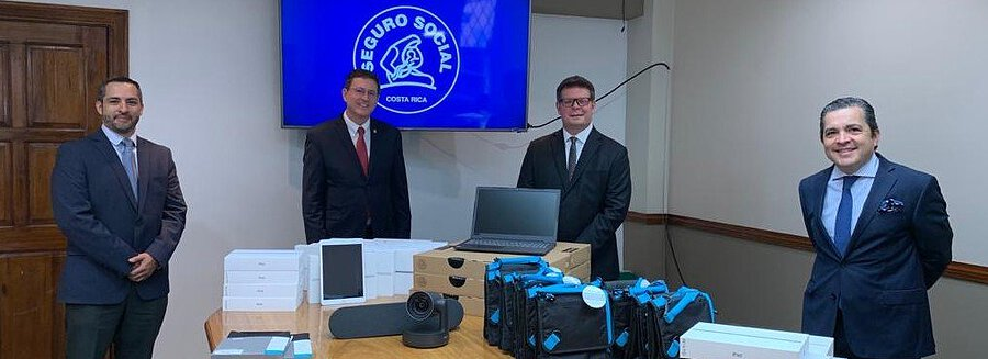 Pfizer Donates to Costa Rica Technological Equipment for Telemedicine and Coolers for Medication Delivery Service