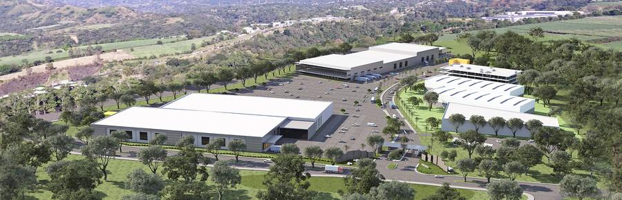 Portafolio Inmobiliario Starts Construction of the Costa Rica Green Valley Free Trade Zone Project in Grecia